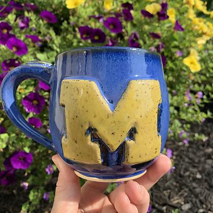 """Mug """"Go Blue"""""""