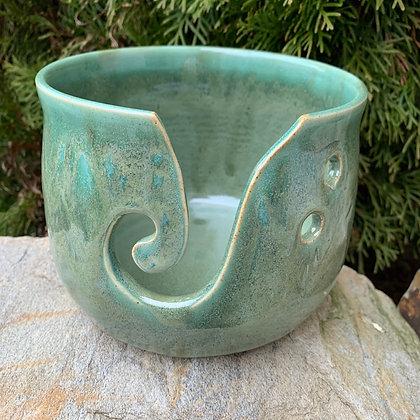 Yarn Bowl - Spring Green