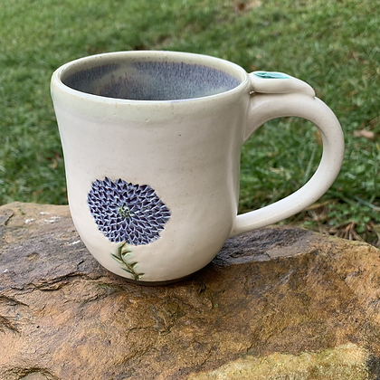 Mug -Floral Carve
