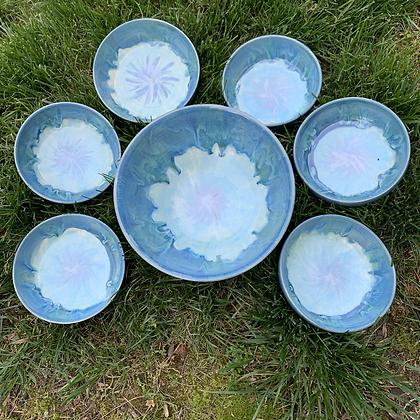 Bowl Set Mermaid Tale