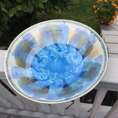 Blue Floral Splendor