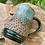 Thumbnail: Mug- Turquoise Texture