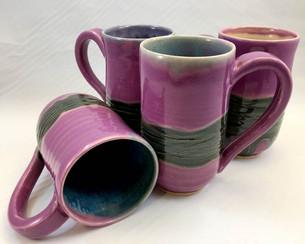 Pink Extra-Large Mug Set