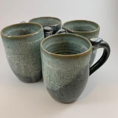 Green Mug Set
