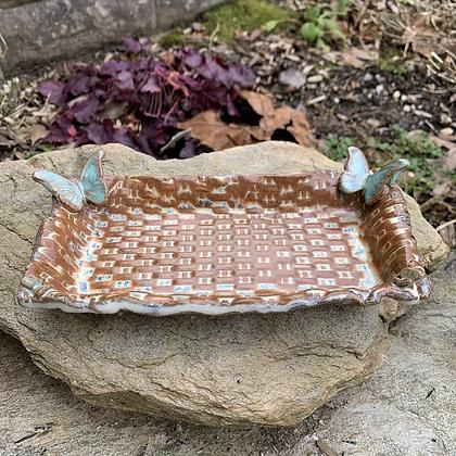 Tray-Butterfly Weave
