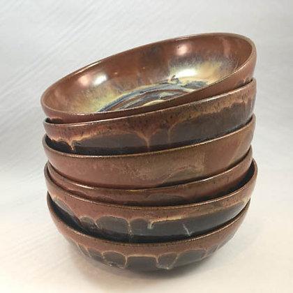Bowls (M) -Swirling Brown