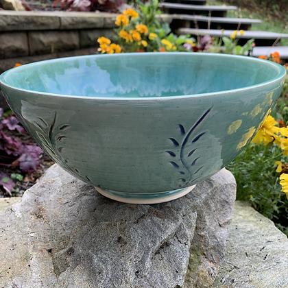 Bowl -Jade Flower