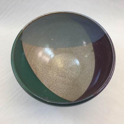 Bowl (M) - Tricolor Pedestal