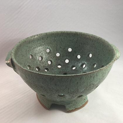 Colander (L) Speckled Green
