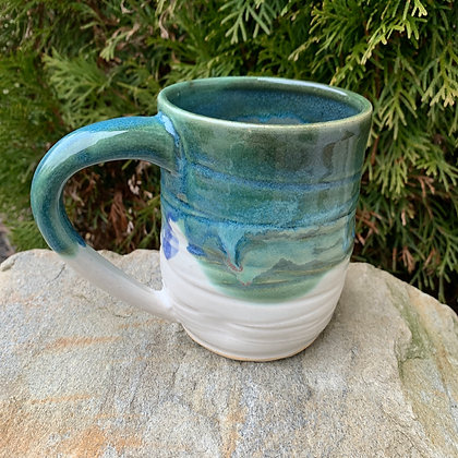 Mug -Deep Green Dive II