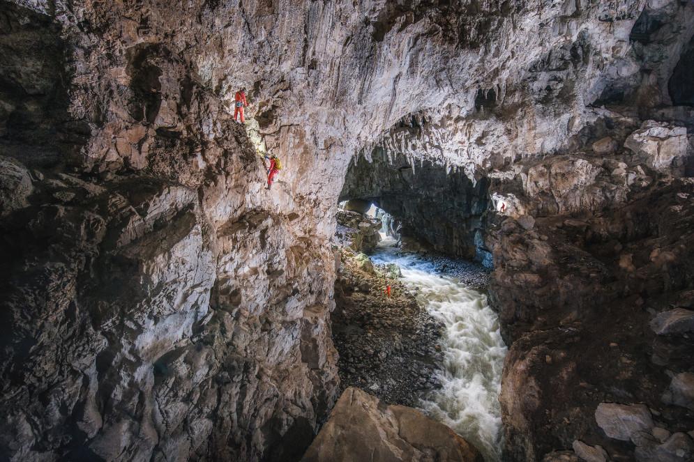 Escalada en Cueva Güerta