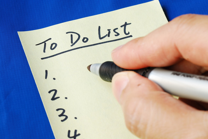 "One ""To Do List"" - Just isn't enough!"