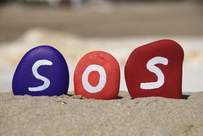 S.O.S. can actually S.O.S.
