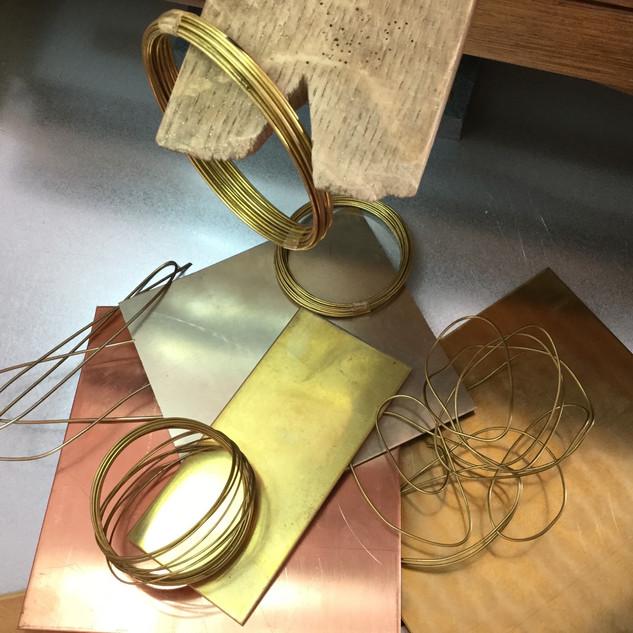 Ottone e vari metalli
