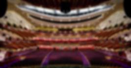 由舞台看向觀眾席