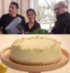 הגר - הכי טעים שיש - עוגת גבינה לימונית