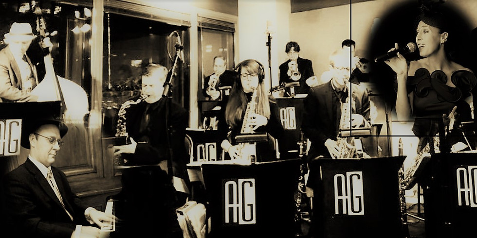 Tanya Melamed with the Alan Gresik Swing Shift Orchestra