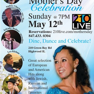 Mother's Day at 210LIVE