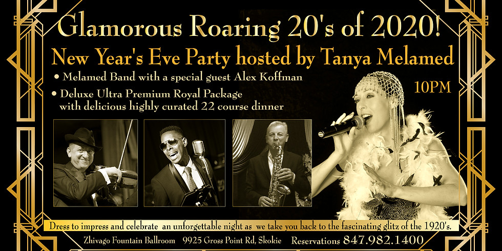 New Year's Eve Party Roaring 20's of 2020!
