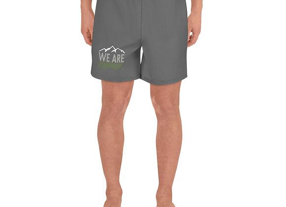 We Are Ultranomadic Men's Athletic Long Shorts