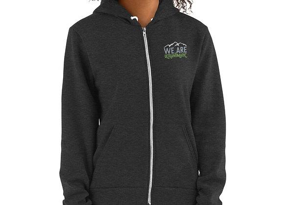 Women's We Are Ultranomadic Zip Up Hoodie sweater