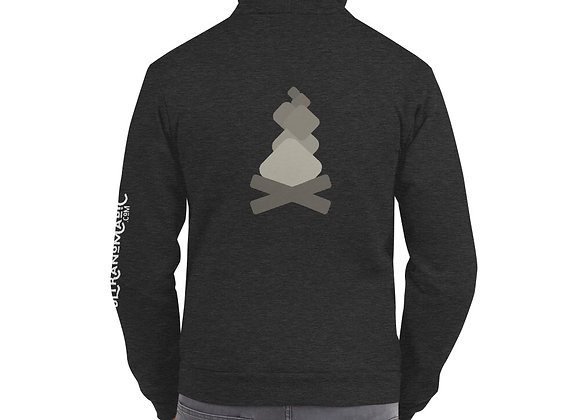 Men's Campfire Loading Zip Up Hoodie sweater