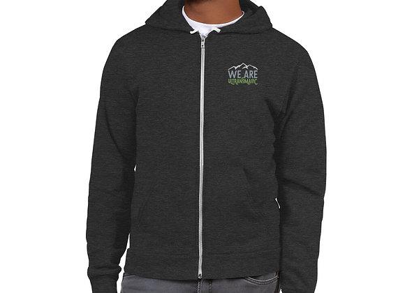Men's We Are Ultranomadic Zip Up Hoodie sweater