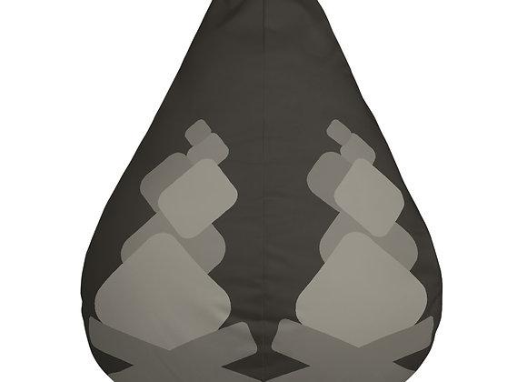 Campfire Loading Symbol Bean Bag Chair w/ filling