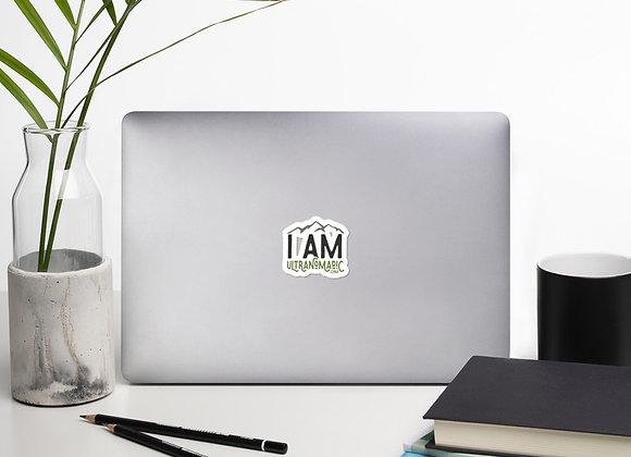 I Am Ultranomadic Sticker