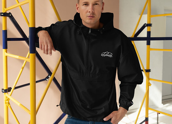 Men's Logo Embroidered Champion Packable Jacket