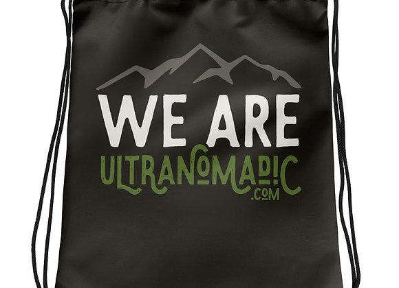 We Are Ultranomadic Drawstring bag