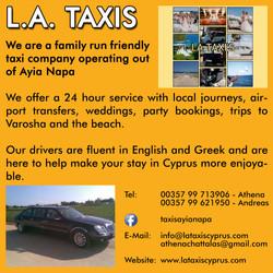 L A Taxis, Ayia Napa