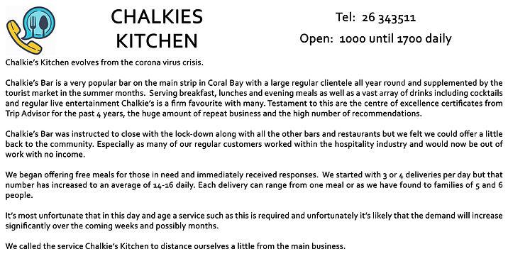 Chalkies Kitchen Editorial
