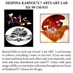 Despina Karyou's 7 Arts Art Lab, Paralimni