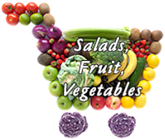 Salads, Fruits, Vegetable Recipes