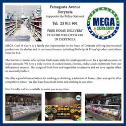 MEGA Cash & Carry, Deryneia