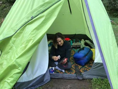 ישנתי על האדמה, באוהלים, ביורט, בשק״ש וגם בין מצעים נקיים...