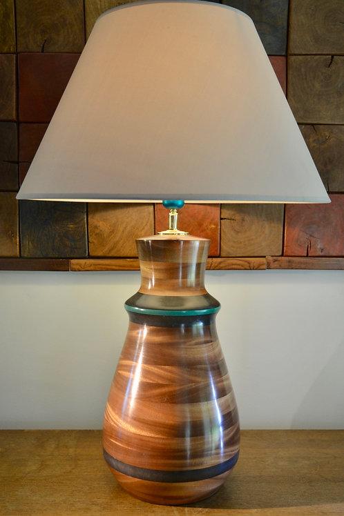 Pied de lampe n° 367. Bois de Sipo