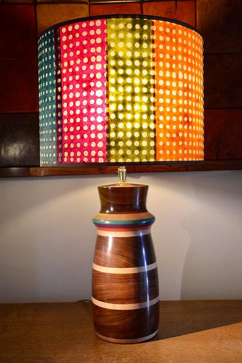 Création pied de lampe en IPE. 401.