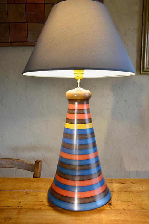 Pied de lampe en valchromat n°340