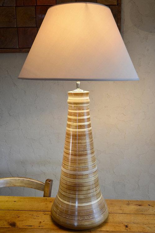 Pied de lampe. MDF + Contreplaqué