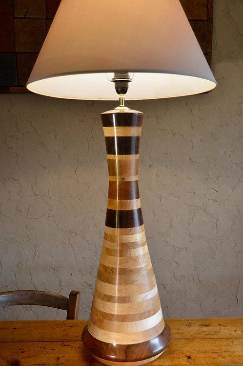 Pied de lampe. Palissandre 8