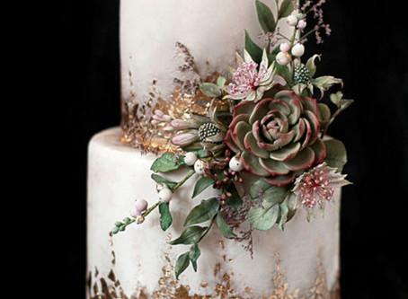 Hoje é dia de...... falar sobre bolos de casamento!!!