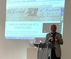 Presenter at symposium.