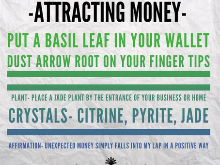 Mystic Tips for Welcoming Money