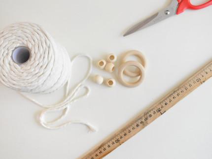 איך לחשב את אורך החבלים