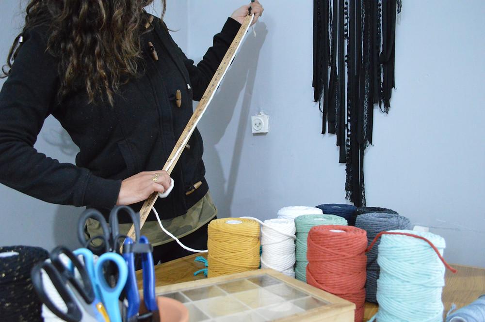 ככה אני מודדת את אורך החבלים שלי