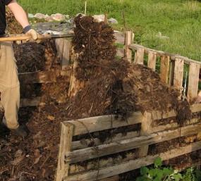 Karstā komposta apgriešana