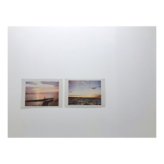 Pair of Whitby Riso prints