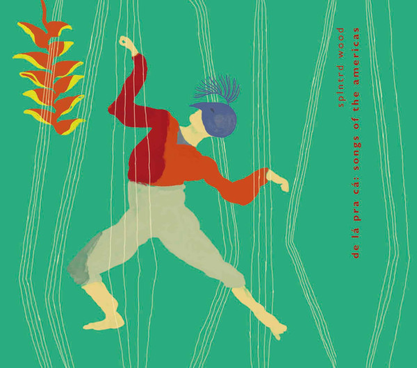 Ilustrações para Encarte & CD do álbum 'De lá pra cá : Songs of the Americas'